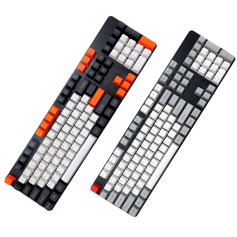 104 Key OEM Profile PBT Thicken Keycaps Keycap Set for Mechanical Keyboard
