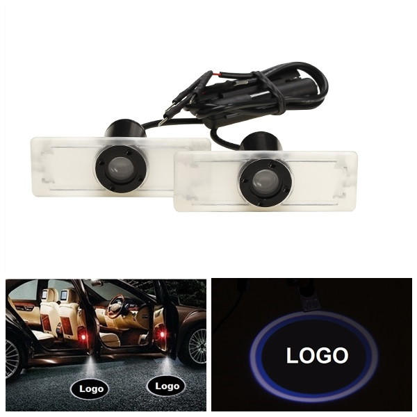 5W LED Door Welcome Light Courtesy Laser Projector Drilling Installation Universal for BMW