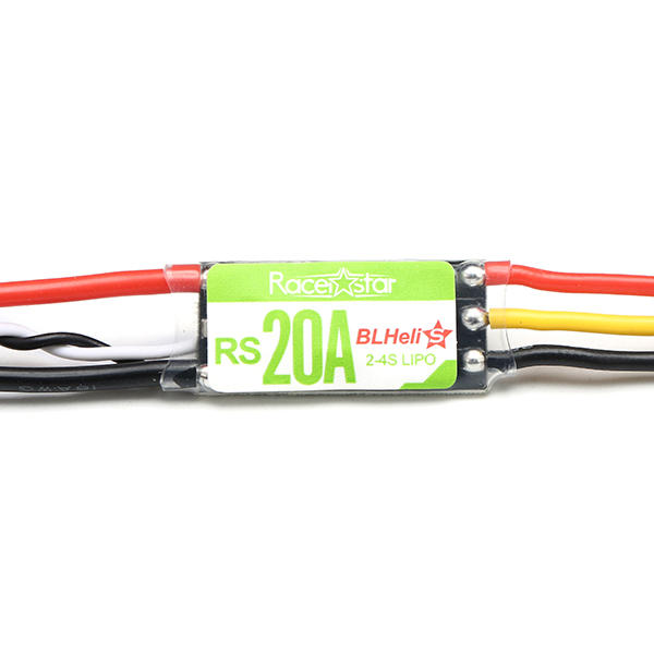Racerstar RS20A 20A BLHELI_S OPTO 2-4S ESCサポートDshot150 Dshot300 for RC Racing Drone
