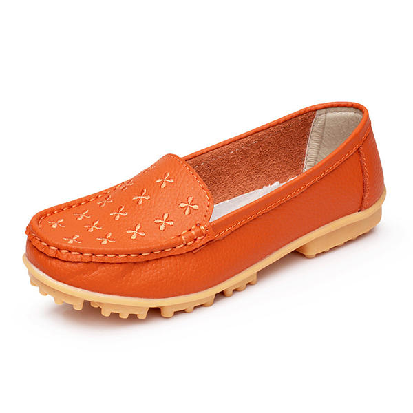 Casual Soft Sole Comfy Breathable Flat Loafers For Women