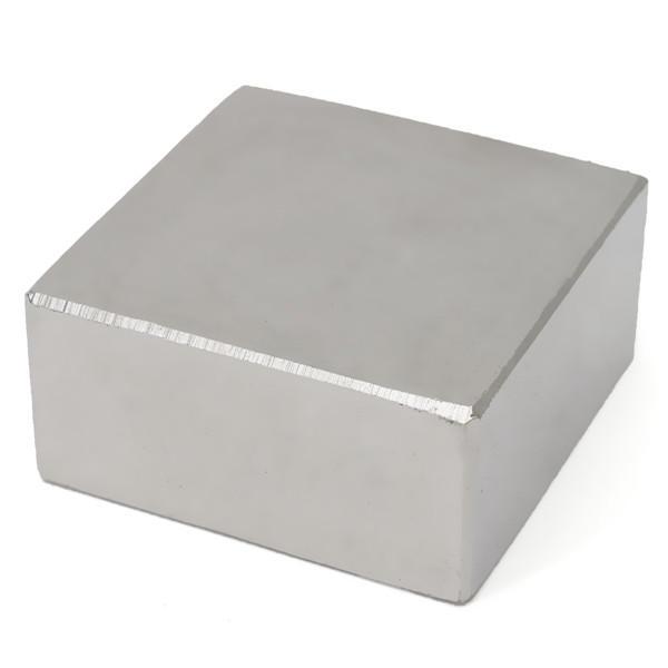 N52 40x40x20mm Magnet สแควร์บล็อกที่แข็งแกร่ง หายาก แม่เหล็ก Earth Neodymium