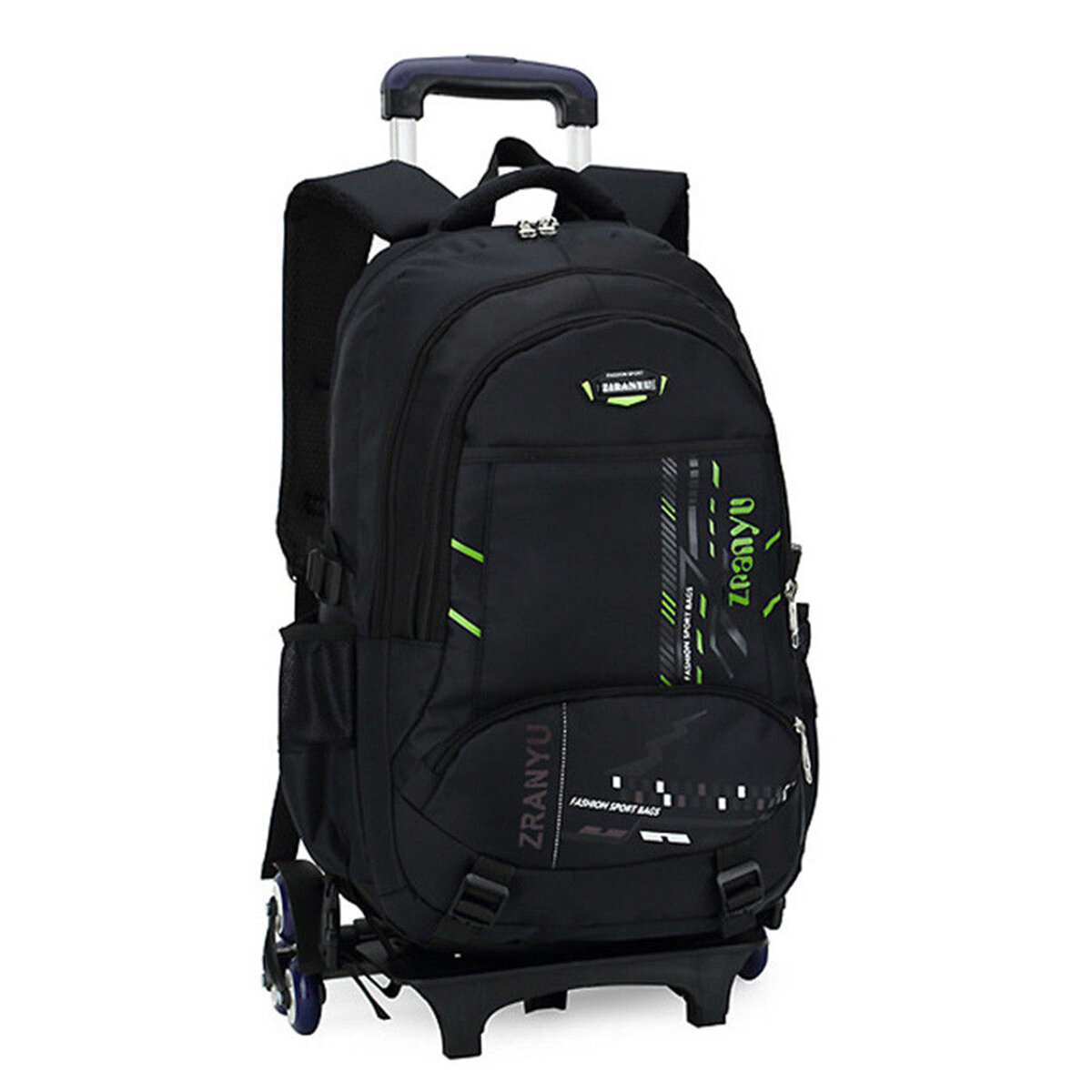 85c8cbce8037 36L Children Kids Trolley Backpack Camping Travel Rucksack School Luggage  Bag With Wheels COD