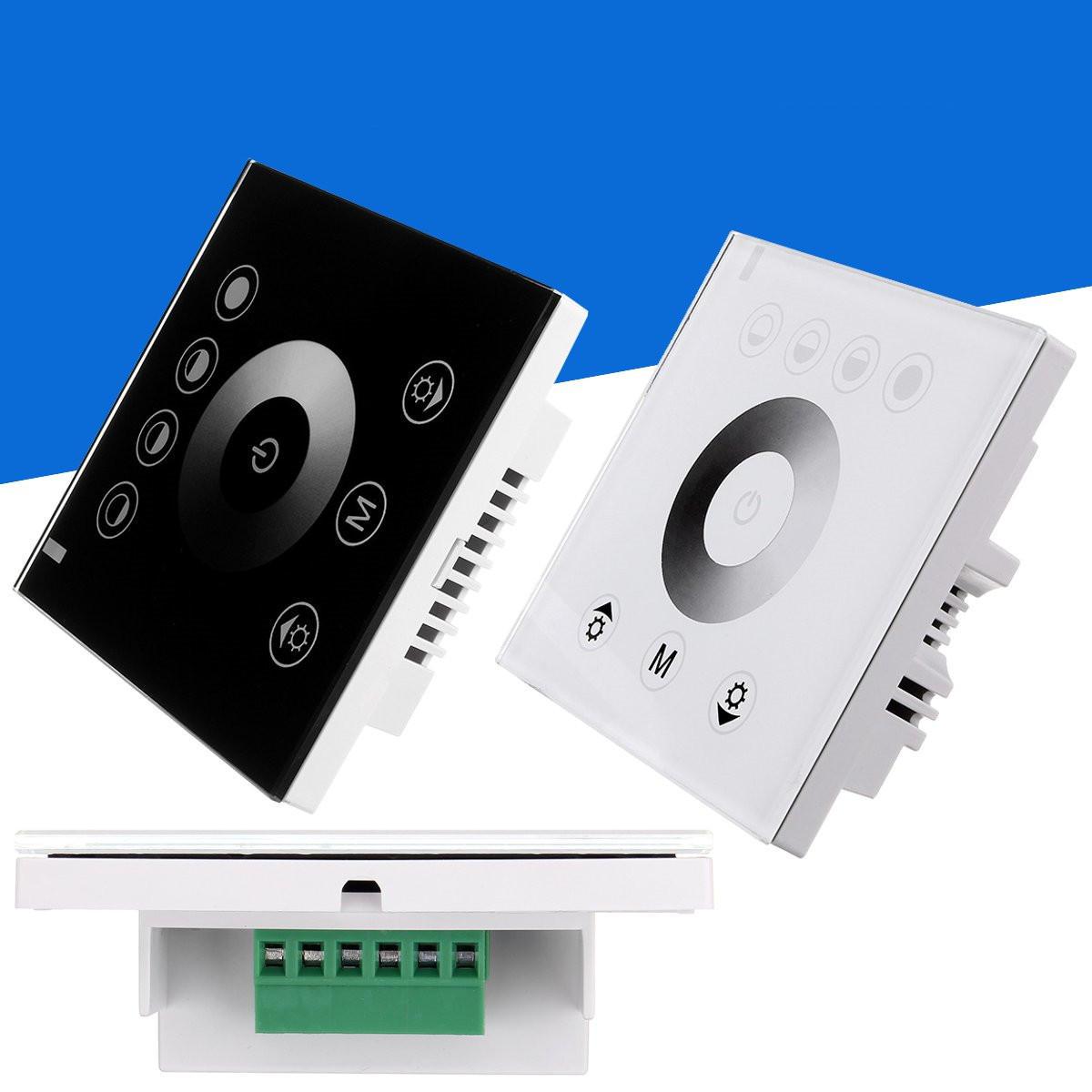 単色LEDストリップDC12V-24V用壁掛けタッチパネルスイッチ調光器