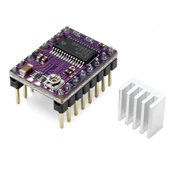 5Pcs Geekcreit® 3D принтер Stepstick DRV8825 шагового Драйвер RepRap 4 слоев PCB