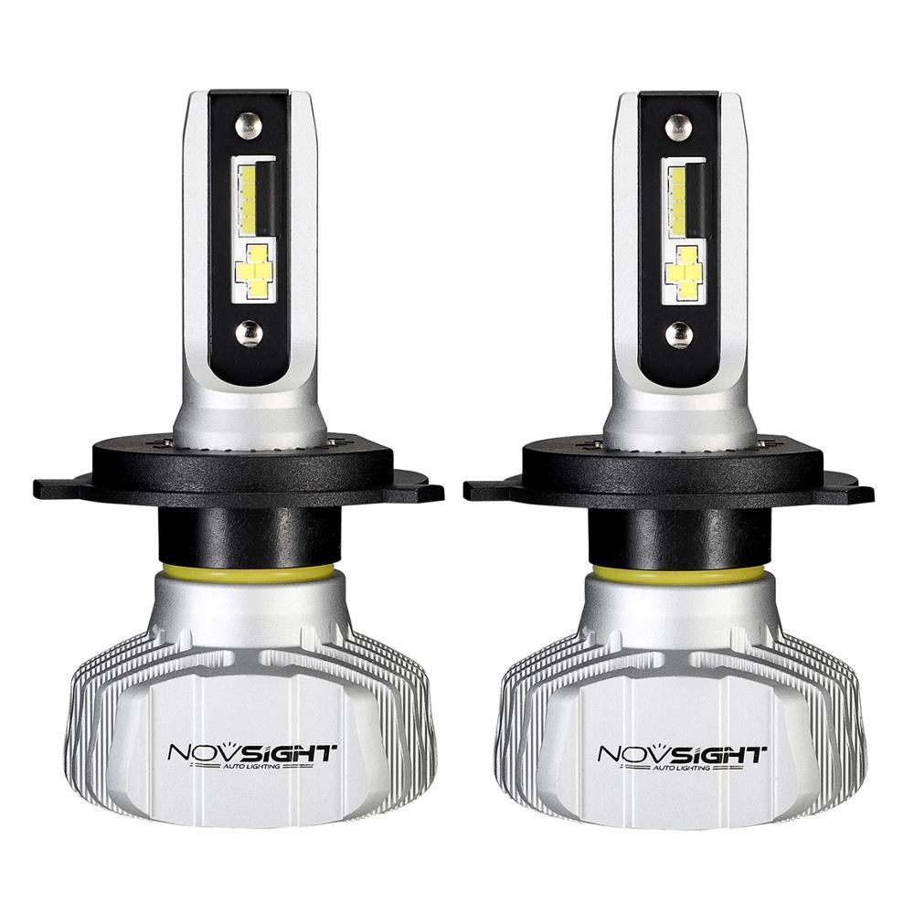 NovSight A500-N15 50W 10000LM LED Car Headlights Bulbs Fog Lamp H1 H3 H4 H7 H11 9005 9006 6500K