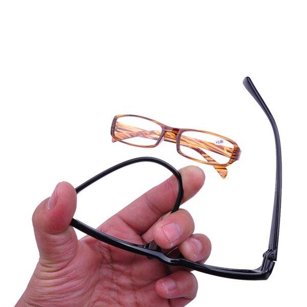 Unisex Men Women Ultralight Reading Glass Resin Lens Elderly Magnetic Presbyopic Glasses