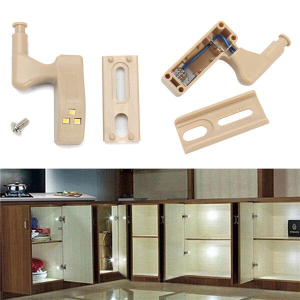 Battery Powered PIR Motion Sensor LED Cabinet  Night Light for Kitchen Living Room Cupboard Closet