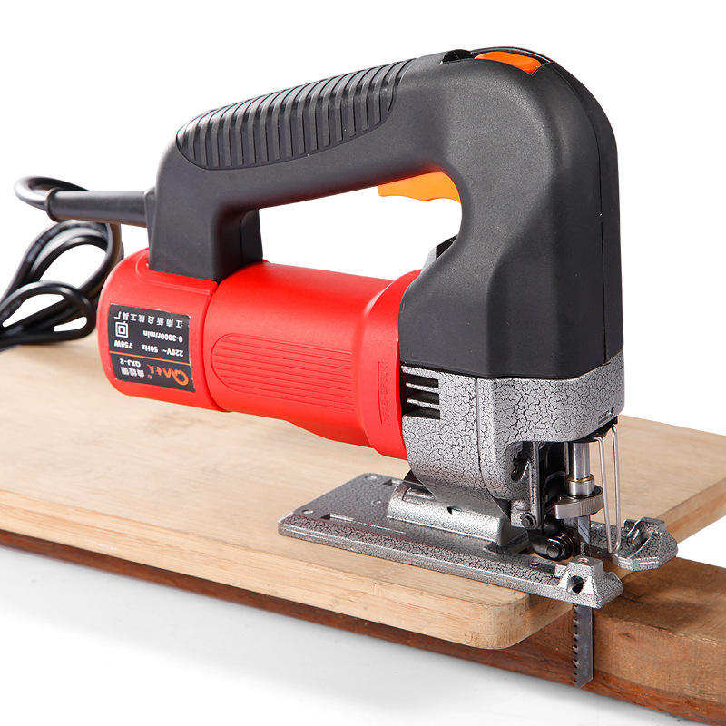 220v 750w Electric Handle Orbital Jig Saw Woodworking Curve Chainsaw