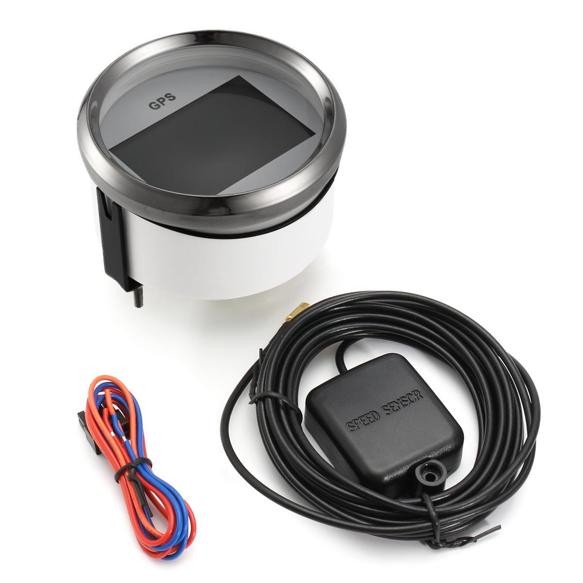 300km / h Digital GPS Speedometer Spår 85mm 9-32 VDC 100mA Bilbil Lastbil Marine