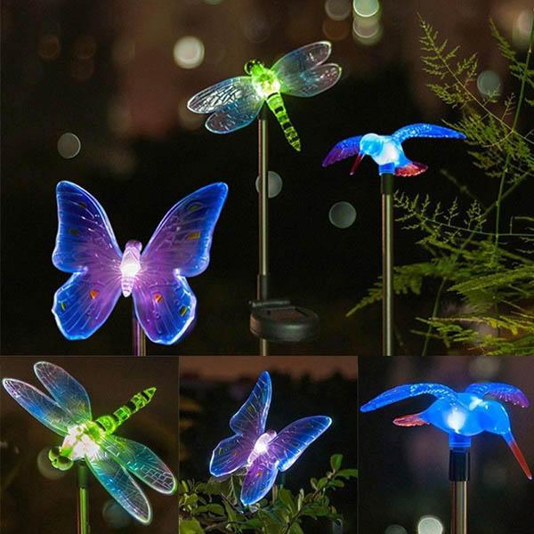 Energia solare animale colorato LED giardino luce della decorazione paesaggio lampada impermeabile