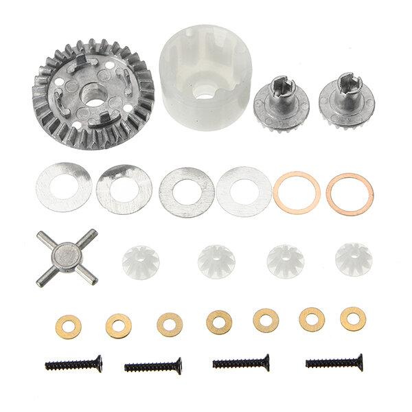 HBX 12891 Engrenages différentiels 1/12 + Étui différentiel 12611R Pièces de voiture RC
