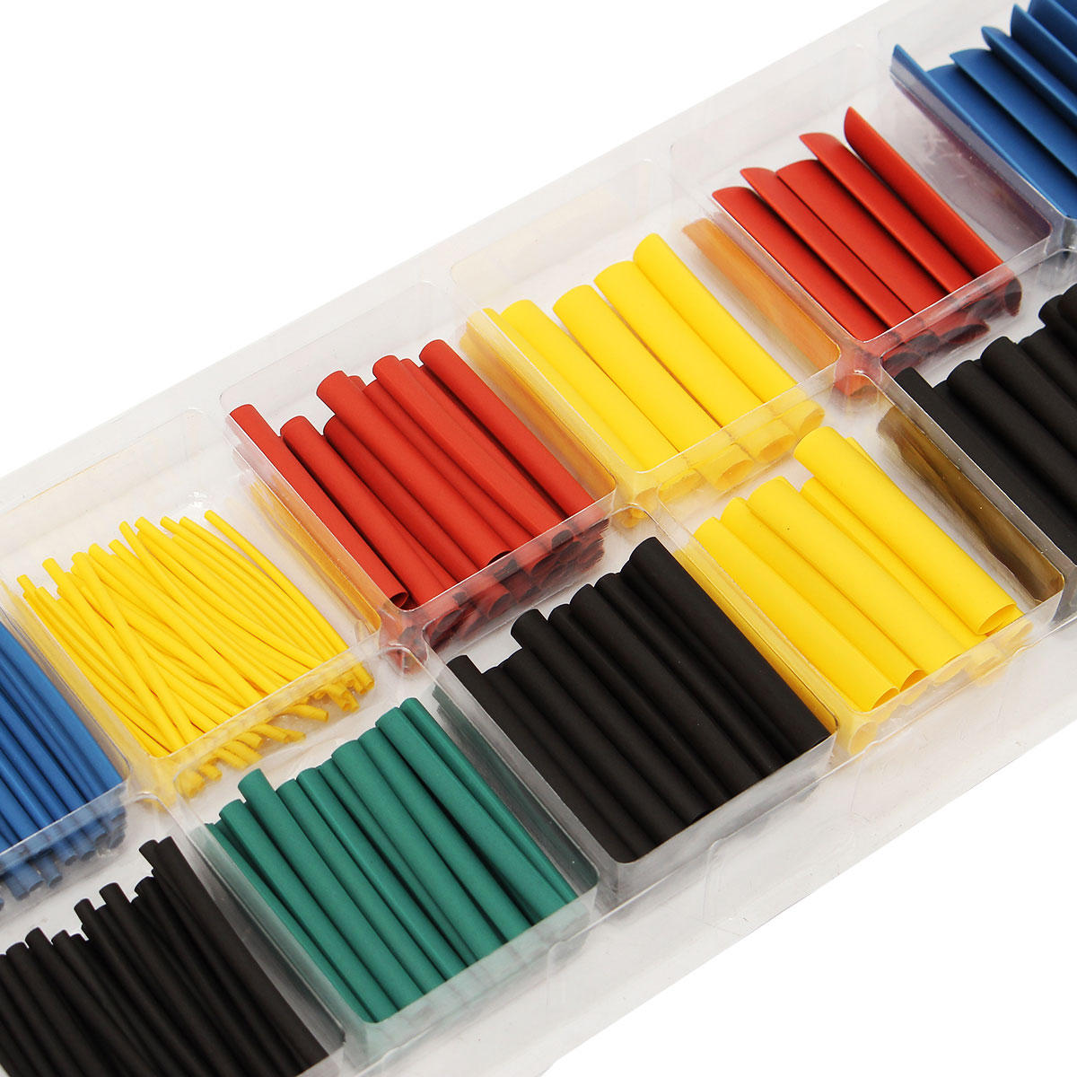280pcs assortment ratio 2 1 heat shrink tubing tube. Black Bedroom Furniture Sets. Home Design Ideas
