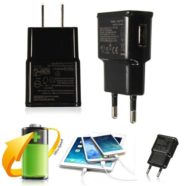 Mini USB 5V 2A Home Travel Wall Charger Power Adapter for Tablet Cell Phone
