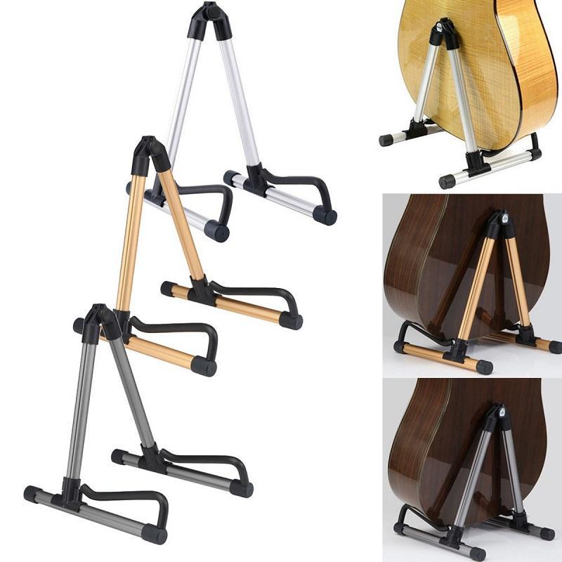 folding electric acoustic bass guitar stand holder for guitar ukulele violin sale. Black Bedroom Furniture Sets. Home Design Ideas