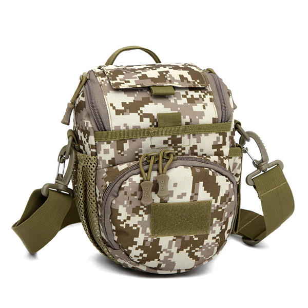 Men Outdoor Camouflage Bag Shoulder Bag Sports Portable Nylon Cossbody Bag