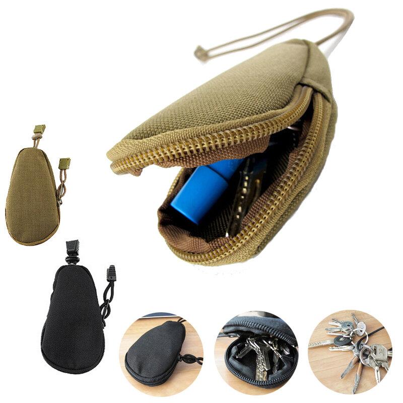 EDC Mini Key Wallets Cycling Keys Holder Purses Pouch Pocket Keychain  Zipper Case COD 795e5df7a2b8
