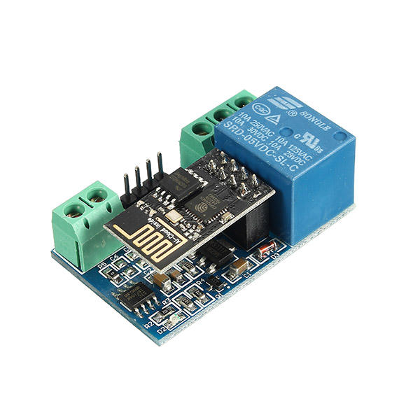 Geekcreit® ESP8266 5V WIFI Relay Module Internet Of Things Smart Home Phone APP Remote Control Switch