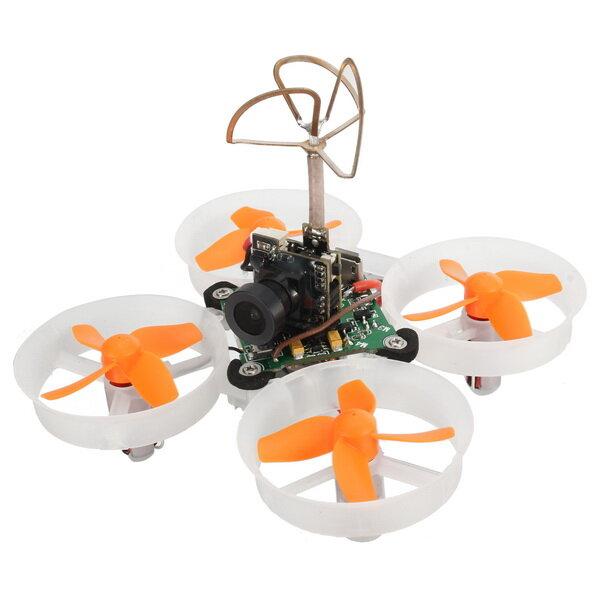 Eachine E010S 65mm Micro FPV Racing Quadricoptère avec 800TVL CMOS Basé sur F3 Contrôleur de Vol sans Balai