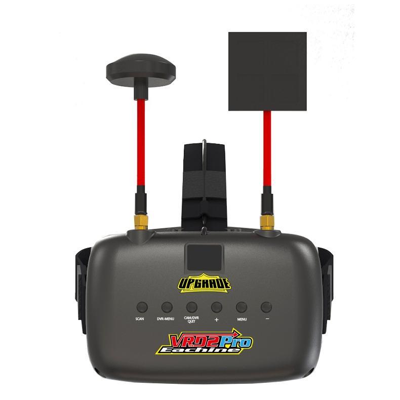 Eachine VR D2 Pro 5 Pouces 800*480 40CH 5.8G Diversité FPV Goggles w/ DVR Lentilles Réglables