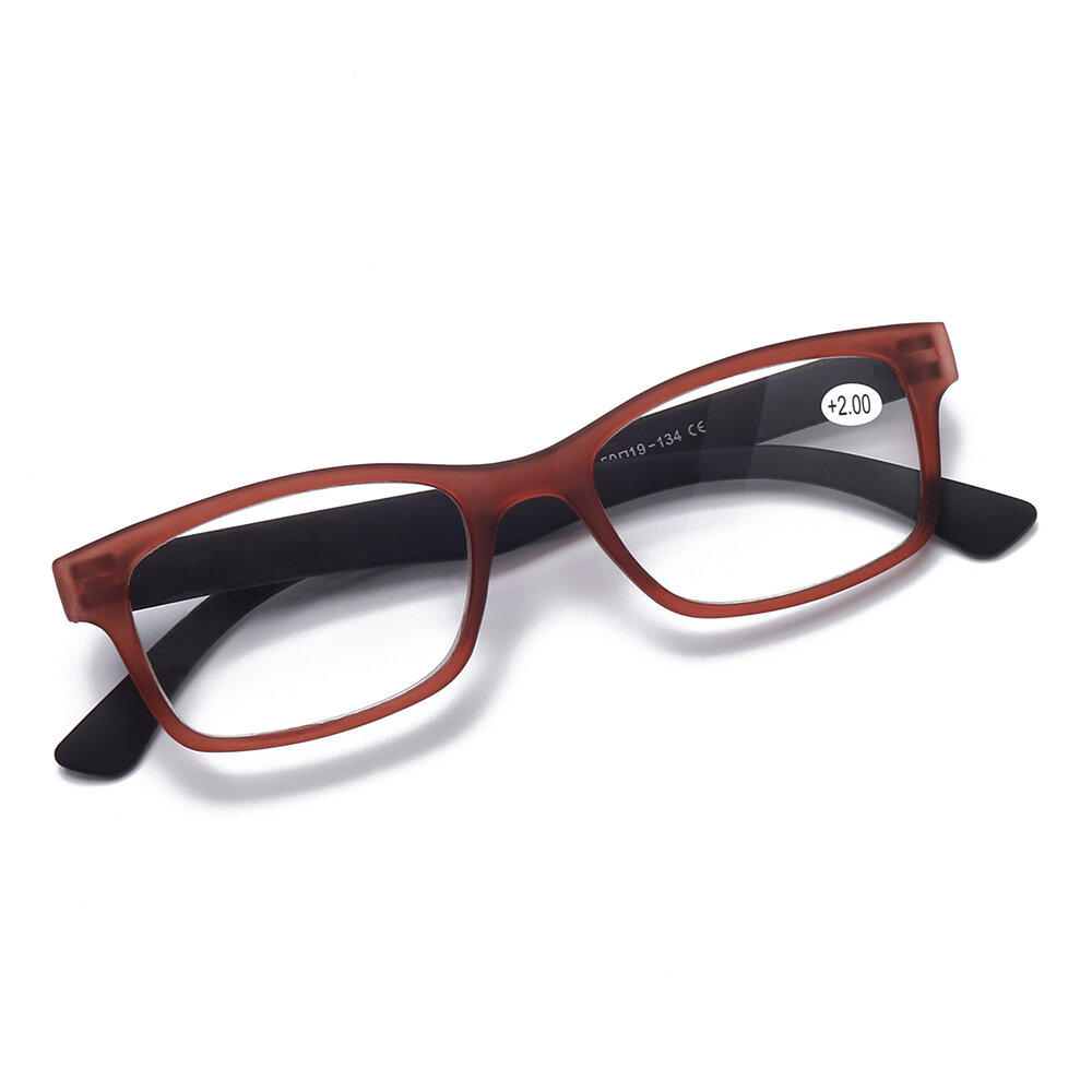 855dc9036c28 Ultra-Light Resin Lens Reading Glasses Without Screws Elderly Detachable Computer  Presbyopic Glasses COD