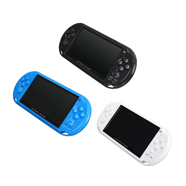 X9 S Rechargeable 50 Inch 8g Handheld Retro Game Console Video Mp3