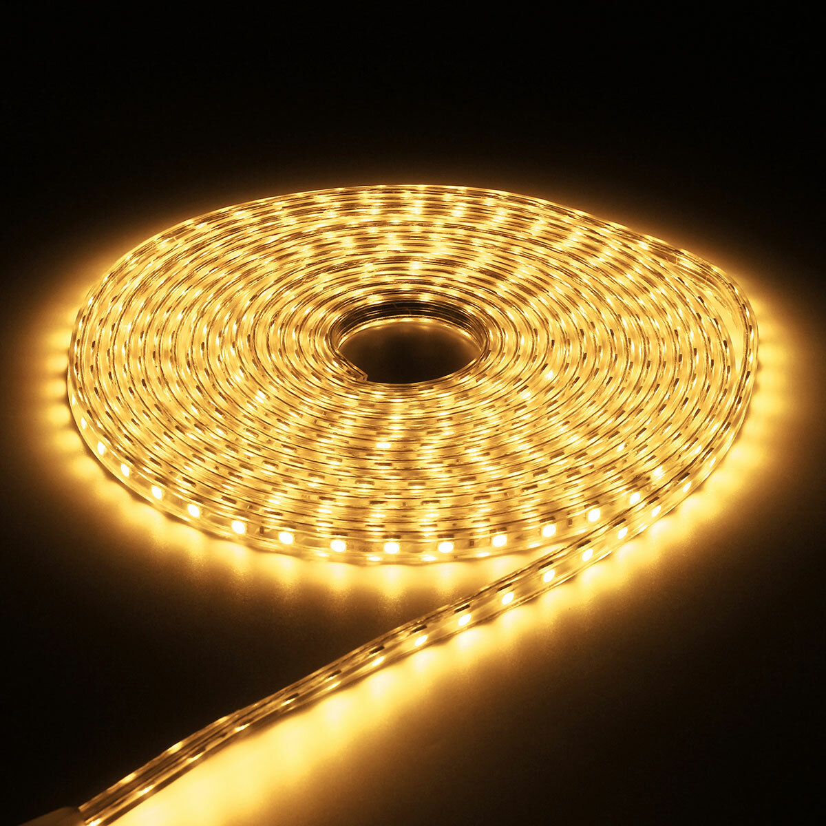 Outdoor 5050 Tape Light: 220V 9M 5050 LED SMD Outdoor Waterproof Flexible Tape Rope