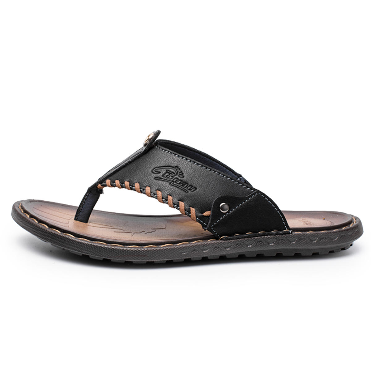 585e9a461a0 Mens Sandals Toe Shallow Summer Shoes Anti-slip Slippers Comfort Outdoor  Sandals Summer Beach Shoes