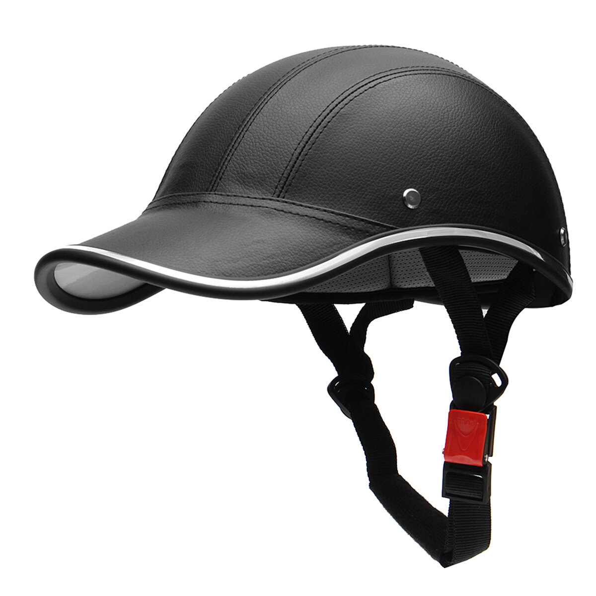 Half Helmet Baseball Cap Style Safety Hard Hat Open Face For Motorcycle Bike Scooter