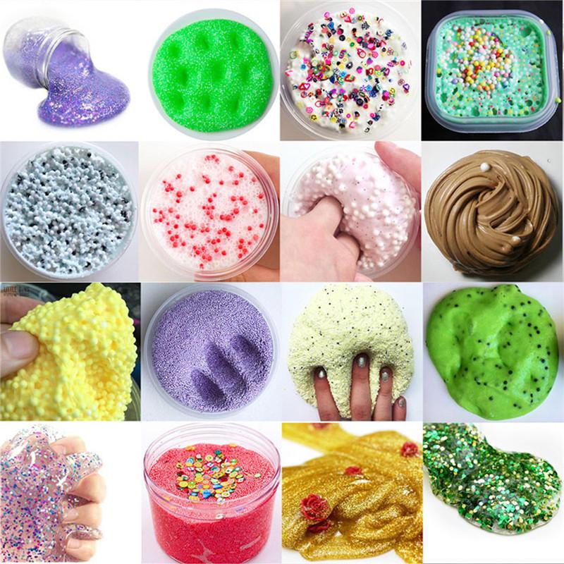 Mini Fancy Slime Kit da laboratorio Crea i tuoi bambini Gloop Gioielli fai-da-te regalo