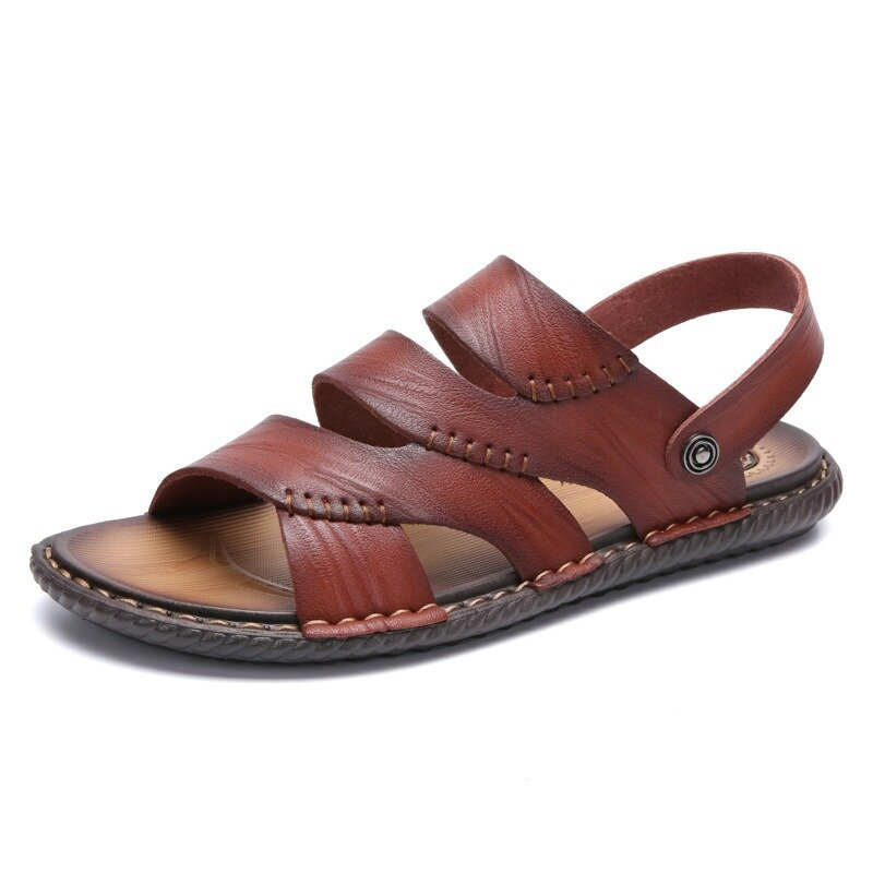 1ca896d3c55 Men Hollow Out Casual Daily Sandals Beach shoes COD