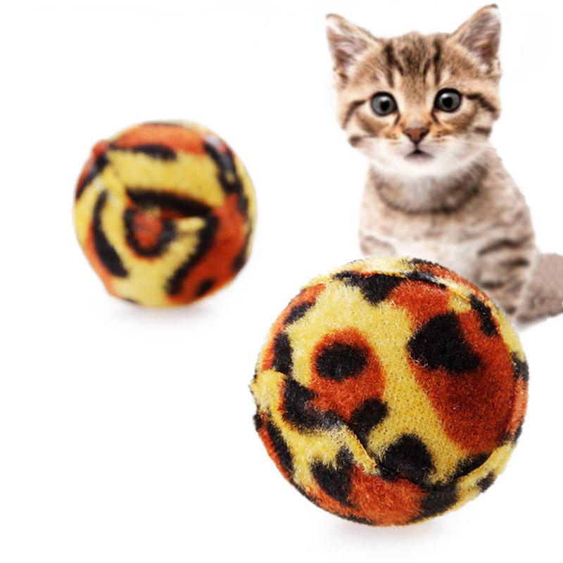 Pet Kedi Öğütme Kelebeği Leoparı Küre Oyuncakları Yaratıcı Ses Kedi Oyuncaklar Çiğneme Egzersiz Oyuncakları Çalın