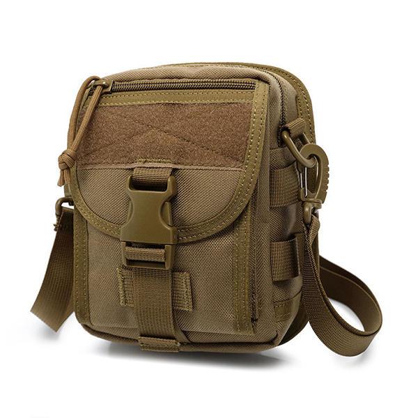 Army Style Nylon Tactical Men Shoulder Bag Messenger Bag for Sport Travel  Hiking COD