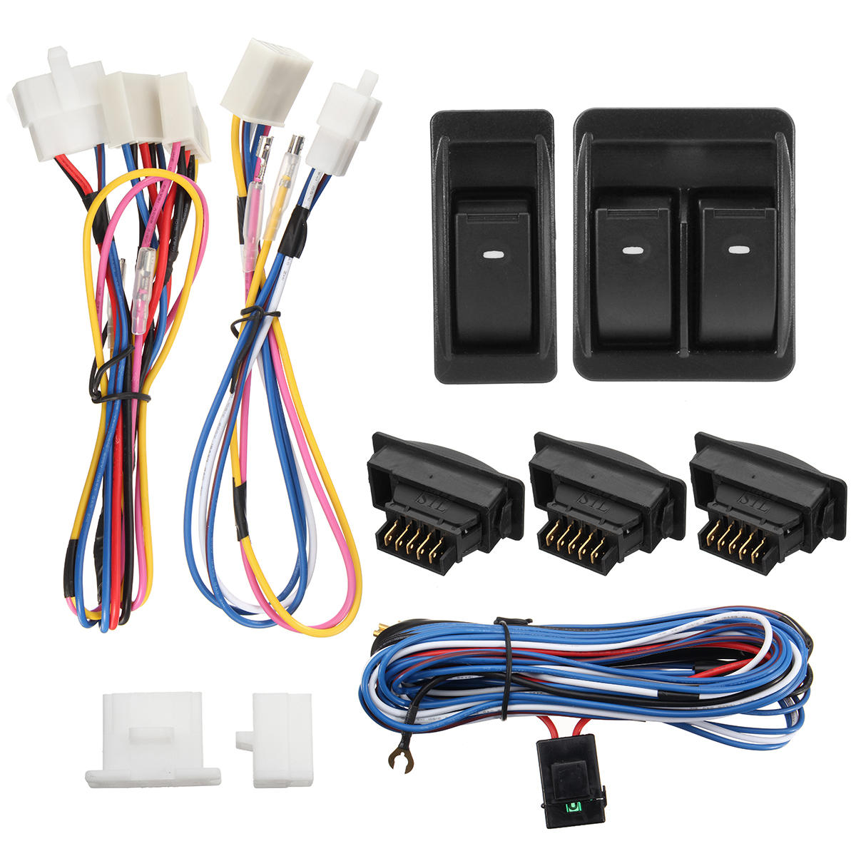 Terrific 12V Vehicle Off Road Power Door Window Switch With Wiring Harness Wiring Database Wedabyuccorg