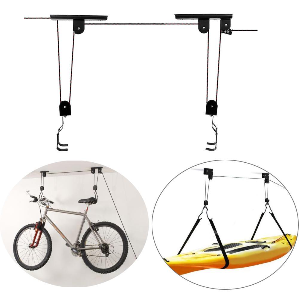Bikight Bike Bicycle Lift Ceiling Mounted Hoist Storage