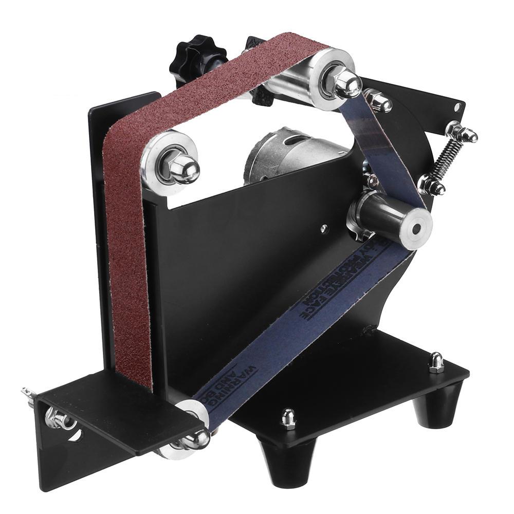 Drillpro DIY Cinturón Uso de accesorios de lijadora 775 795 895 motor  Lijado Cinturón Soporte adaptador 7a8c7ddf47dc