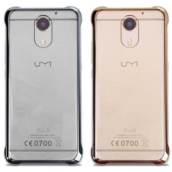 Original Translucent PC Clear Protective Hard Back Cover Case For UMI Plus UMI Plus E