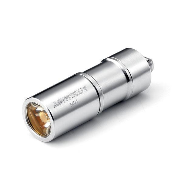 Astrolux M01 Nichia 219C/XP-G3 100LM USB Rechargeable Mini LED Flashlight