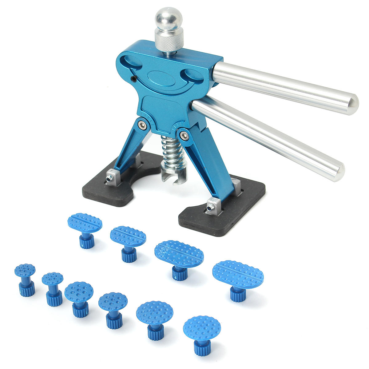 Useful PDR Lifter Glue Puller Tab Hail Removal Paintless Dent Repair Tools Kit
