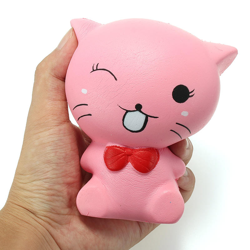 Squishy Cat Kitten 12cm Soft Slow Rising Animals Cartoon Collection Gift Decor Toy