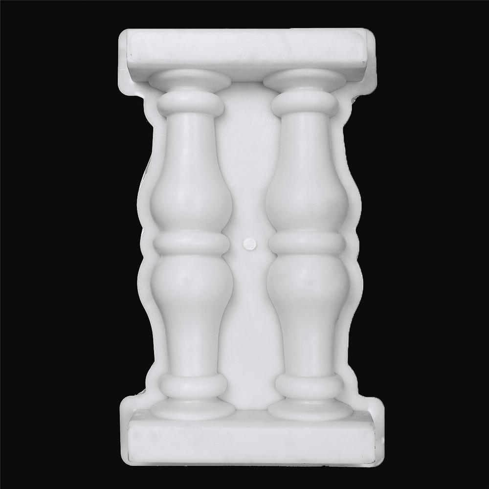 Roman Column Mold Plastic Mould For Concrete DIY Craft Home Garden Ornament Decor COD
