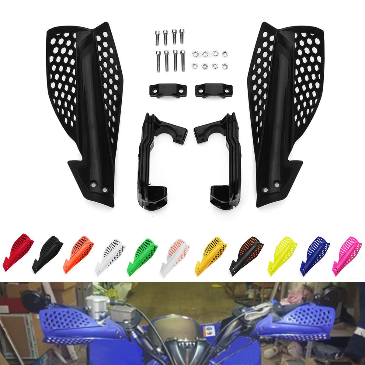 Moto 22mm Handbar Hand Guards Motocross Protezione per la protezione Protezione Dirt Bike Pit Bike ATV Quads