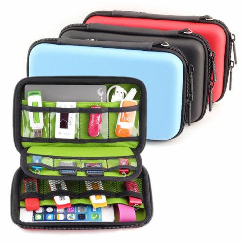 Waterdichte Reis Draagtasje Opbergbeveiliging Zakje Bag Voor USB Flash Drive
