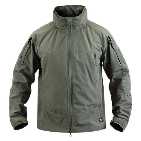 เสื้อกันหนาวแนวนอนกันน้ำสำหรับผู้ชาย Mens Hooded Tactical ทหาร เสื้อกันหนาว Soft Shell