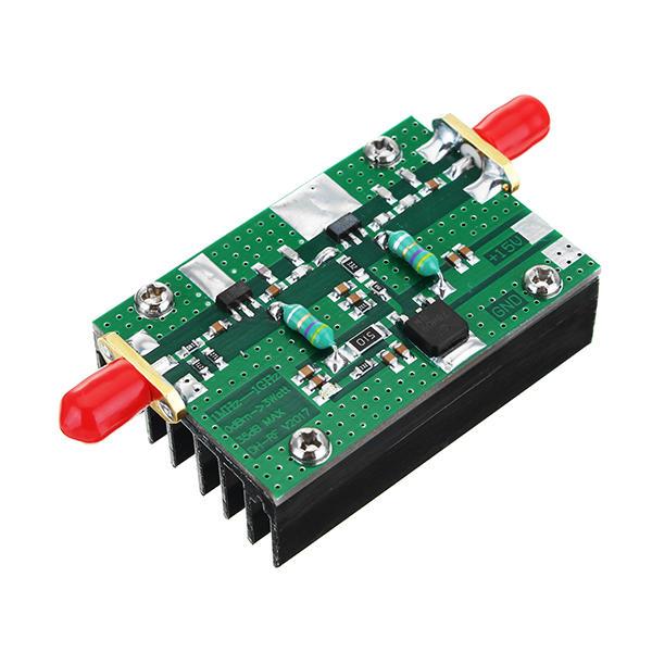 Alle nye 1 mhz-1000 mhz 35db 3 watt hf vhf uhf fm sender breitband rf DX42
