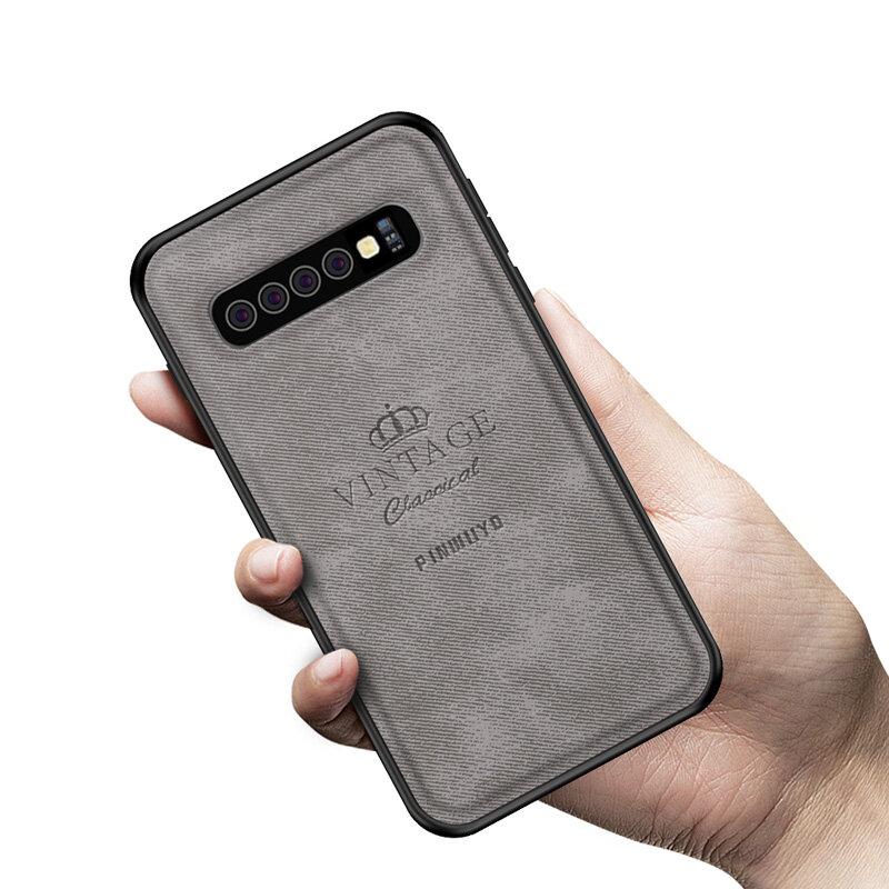 Mofi Protector de cuero a prueba de golpes 3D Caso Para Samsung Galaxy S10 Plus 6.4 Inch