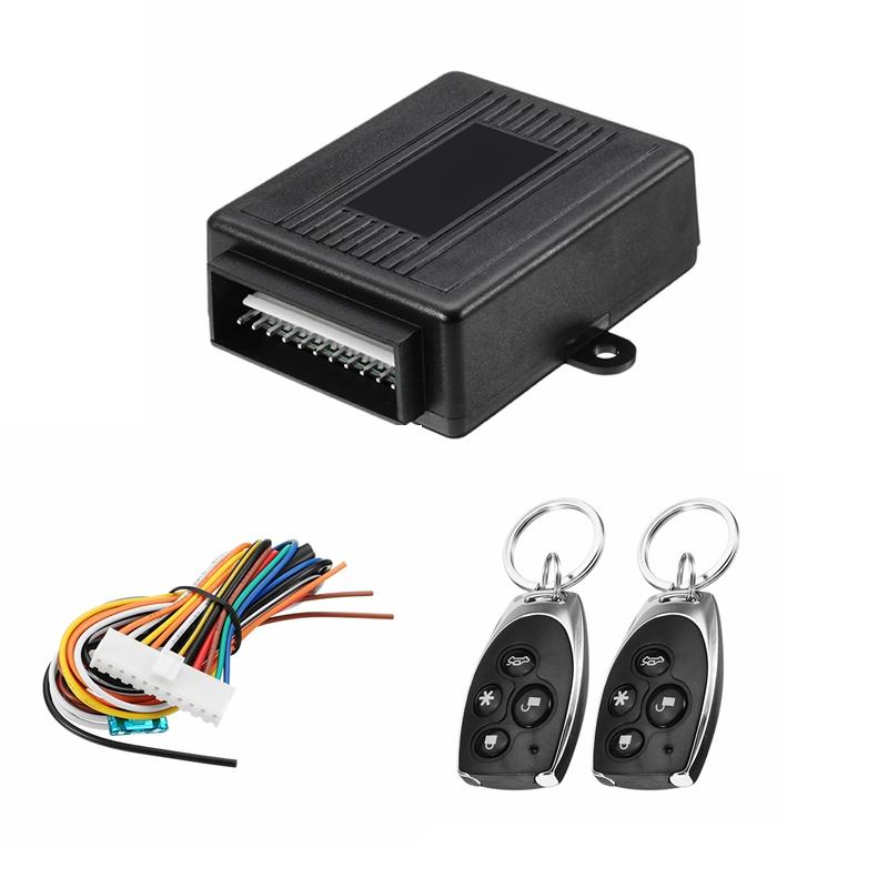 Professional Sale Central Keyless Door Lock Central Locking System With Car Remote Control Alarm Systems Remote Control Central Kit Locking Switch Atv,rv,boat & Other Vehicle