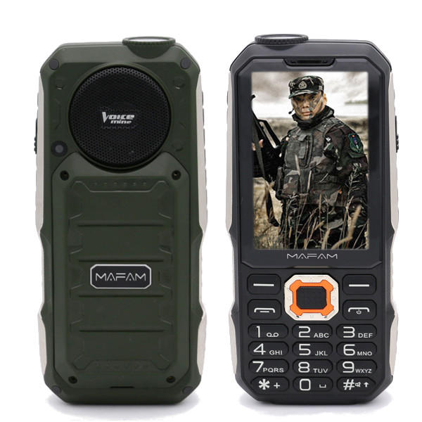 MAFAM М3 4000mAh 2,8-дюймовые 3 карты 3 резервных Power Bank Outdooors Мобильный телефон