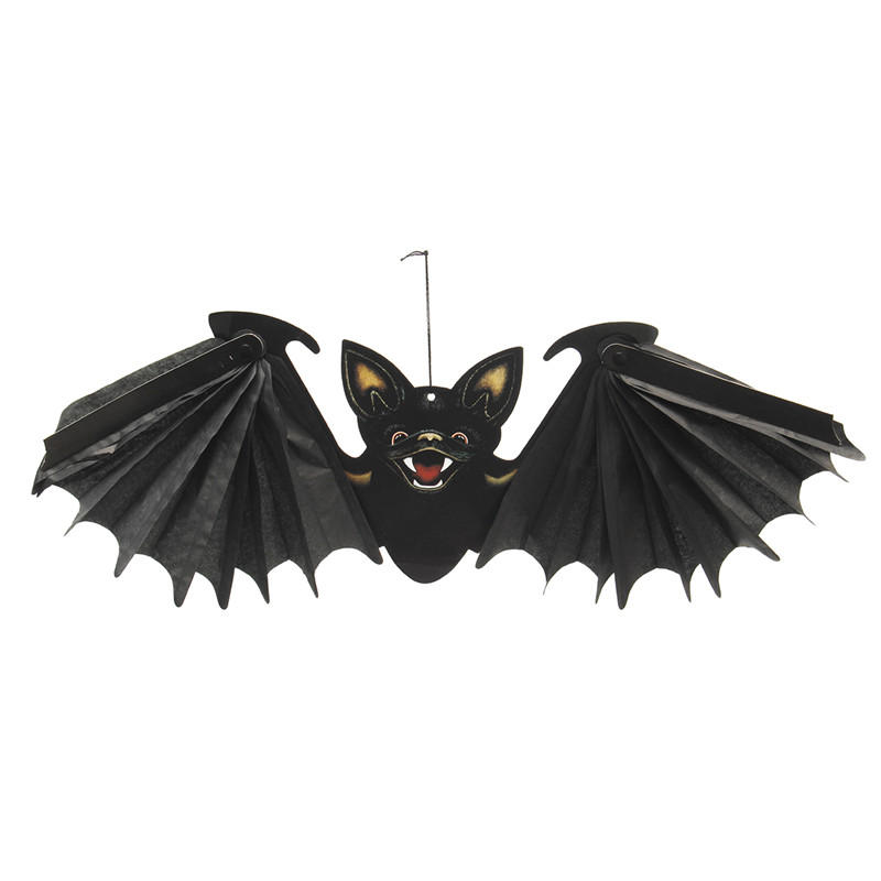 Halloween Party Decoration Prop Hangende Vampier Bat 24 inch Wingspan