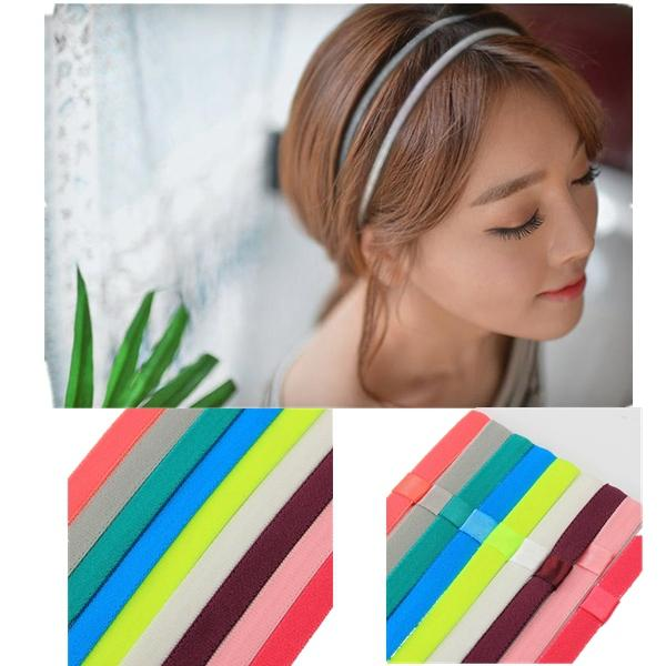 men   women hair accessories yoga sports gym stretch headbandd hair rope  anti-slip elastic band at Banggood sold out 6ade0ceb8be