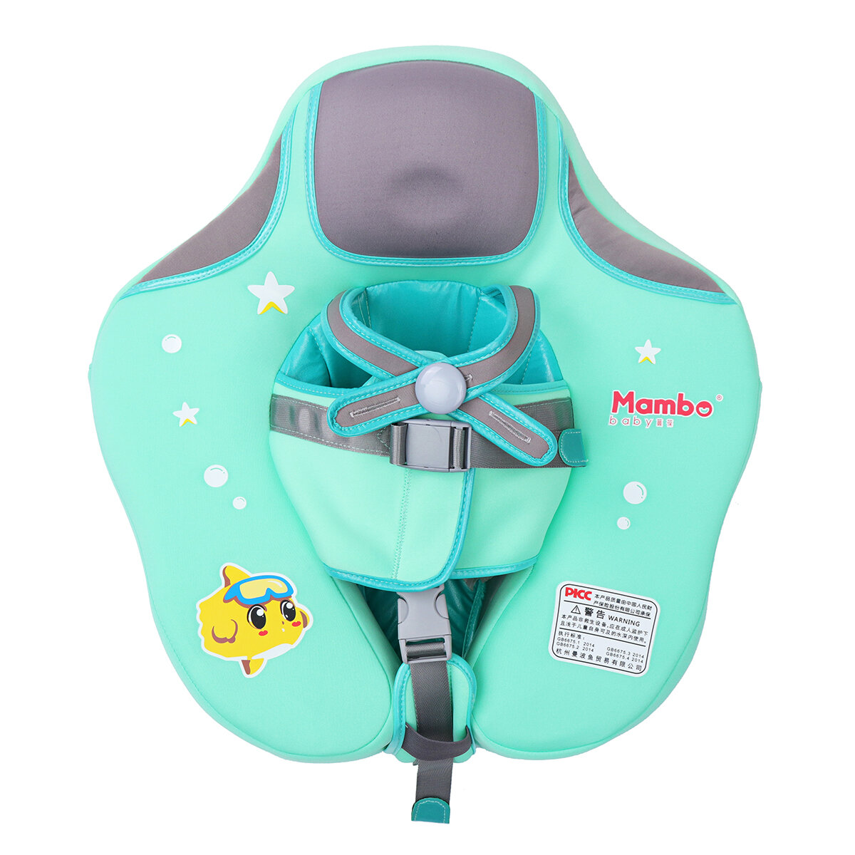 6c8a8bfcf1a Baby Solid Swimming Ring Float Swim Trainer Safety Aid Pool Water Fun Toy  Gifts COD